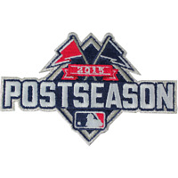 2015 Official MLB Post Season Playoffs Logo Jersey Sleeve Patch Emblem Baseball