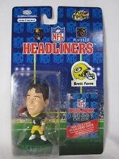 Nfl Headliners Brett Favre Green Bay Packers Brand New Figure