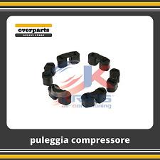 Kit gommini puleggia compressore A/C Mercedes Classe A W169, Classe B W245