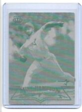 1/1 MIKE HAMPTON 1998 PACIFIC CROWN CARD PRINTING PLATE HOUSTON ASTROS 1 OF 1