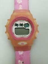 Casio Pink Club G Shock Resistant Digital Womens Watch