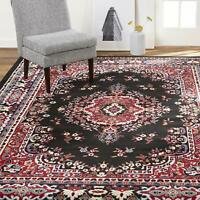 """Carpet Area Rug 7' 8"""" x 10' 7"""" Soft Floral Shabby Chic Bohemian Traditional Bold"""