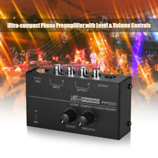 Phono preamplificatore con i controlli di livello volume Uscita di ingresso RCA
