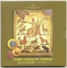 Euro Set CHIPRE 2012 BU - EURO COINS OF  Cyprus 2012