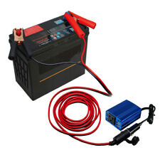 10FT Auto Car Battery Lighter inverter Socket Adaptor Fish Clip Connect Cables