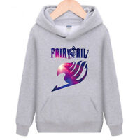 Anime Fairy Tail, men's /boy's Teens Cotton Hoodie Sweater Pullover Casual S-XXL