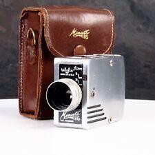 ^ Minute-16 Subminiature Spy Camera w/ Genuine Leather Case! [EX++]