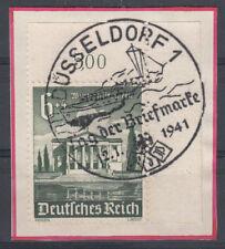 Briefmarken aus dem deutschen Reich (1933-1945) mit Sonderstempel und Bauwerke