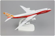 20CM Solid BOEING 747-8 Passenger Airplane Metal Plane Diecast Aircraft Model