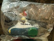 Vintage 1990 Arby's Babar's World Tour Vehicles Babar - NEW Sealed