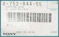 1 PCs NEW and Genuine Sony 8-752-844-55 IC CXP81740-603Q MZ-1 Minidisk Recorder
