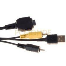 Sony Digital Camera USB/AV Cable for Cybershot DSC Series (182986651) (pp)