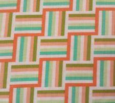 Wishing Well Ladder Stripe Jenean Morrison for FreeSpirit BTY PWJM094 Orange