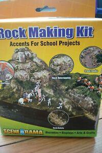 Woodland Scenics Scene-A-Rama Rock Making Kit#SP4121~NEW iN BOX