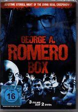 DVD | George A. Romero Box | 3 Filme: Deadtime Stories, Creepshow 2, NOTLD | Neu
