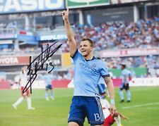"""~ Frederic Brillant Authentic Hand-Signed """"New York City Fc"""" 8x10 Photo ~"""