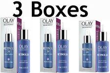 Olay (3 Boxes) Regenerist Retinal 24 night facial serum 1.3 FL oz NIB