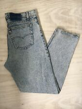 Levi's Vintage 550 Stone Wash Relaxed Fit Tapered Leg, USA Made, W36 L32