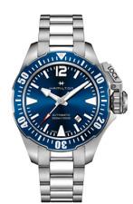 Hamilton Khaki Navy Frogman Auto Stainless Steel Blue Dial Men's Watch H77705145