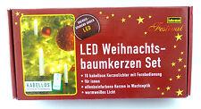 LED Kabellos LED Weihnachtsbaum Kerzenset Weihnachten Beleuchtung Weihnachtsbaum