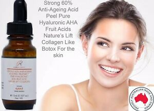 Face Lift Chemical Peel 60% Strength Made in Australia