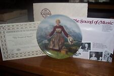 """The Sound of Music Collectors Plate - 1986 - """"The Sound of Music"""""""