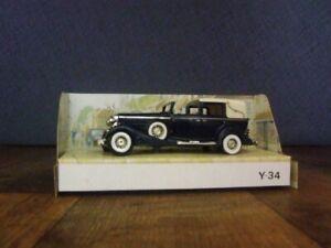Matchbox Models of Yesteryear Y-34 1933 Cadillac 452 V16