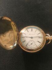 Hampden 11 Jewels Running Vintage 6 Size H/C