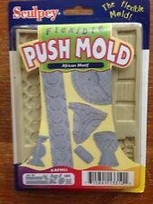 Sculpey Flexible Push Mold Art ~ African  Motif ~ Polymer/Clay/Soap/Wax/Plaster
