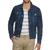 Jack & Jones Denim Jacket Mens Long Sleeve Jean JJVC RRP £60