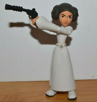"""DISNEY TOYBOX PRINCESS LEIA Action Figure 4.25"""" Tall Exclusive Complete Nice"""