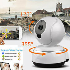 720P HD WiFi Wireless Cam Pan Tilt Network Security IP Camera Night Vision CCTV