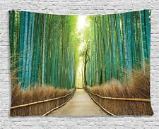 Bamboo Forest Tapestry Wall Hanging Tapestry Room Bedspread Home Art Decoration