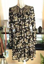 Michael Kors Floral Dress Long Sleeves  Small