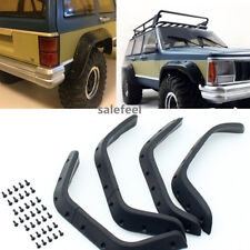 One set 1/10 Rubber Fender Flares For Cherokee XJ Hard Plastic(ABS) Body 313 mm