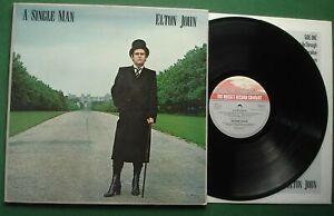 Elton John A Single Man inc Return To Paradise / Shooting Star + TRAIN 1 LP