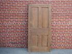 19TH CENTURY RAISED PANEL WALNUT DOOR PEGGED MORTISED