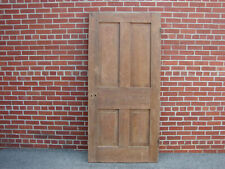 19Th Century Raised Panel Walnut Door Pegged Mortised