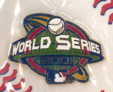 MLB baseball pin - World Series 2001 logo - badge