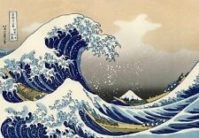 Wall26 - The Great Wave off Kanagawa by Katsushika Hokusai - 66x96 inches