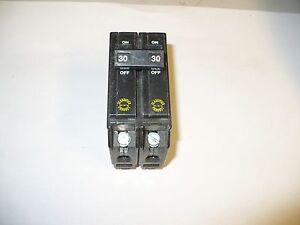 1 pc. Challenger CSQ-230 Circuit Breaker, 2 Pole, 30 Amp, Used
