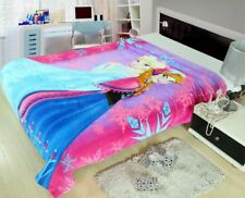 X Large Soft Mink Blanket Flannel Fabric Plush Quilt 1.5x2 Meter Frozen Pink
