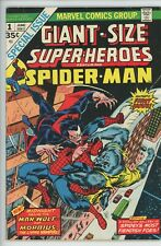 Giant-Size Super-Heroes featuring Spider-man #1 Morbius Man-Wolf Marvel 1974