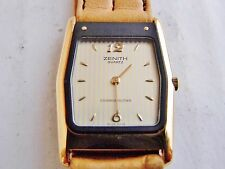 orologio zenith cosmopolitan acciaio e parti dorate donna