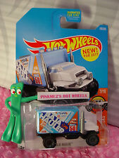 New! BAJA HAULER #179✰White Cab/Blue box✰HW HOT TRUCKS✰2017 Hot Wheels Case H