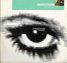 "DISCO CITIZENS footprint - 1997 UK 12"" Vinyl Single EXCELLENT CONDITION"
