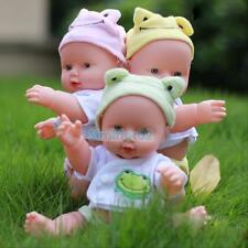 Reborn Baby Doll Soft Lifelike Newborn Cute Baby for Girl Gift Preemie voice S2#