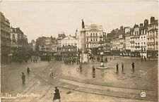 WWI ERA & LILLE, FRANCE, GERMAN OCCUPATION & TWO ca1910s REAL PHOTO POSTCARDS