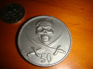 Crown-size Plastic Token Coin, No Cash Value, Nice Used