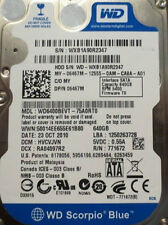WD6400BEVT-75A0RT0 640gb  Sata Laptop Drive